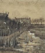 Канава (Ditch), 1884 - Гог, Винсент ван