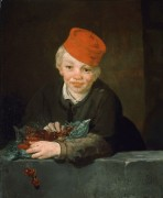 Мальчик с вишнями - Мане, Эдуард