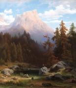 Горное озеро - Хольцер, Йозеф