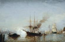 Пушечный залп с корабля, Венеция -  Зим, Феликс