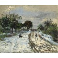 Зимний пейзаж, 1875 - Ренуар, Пьер Огюст
