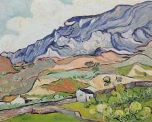 У Альпий возле Сен-Реми (Les Alpilles at Saint-Remy), 1890 - Гог, Винсент ван