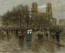 Площадь Сен-Сюльпис в Париже - Рафаэлли, Жан Франсуа