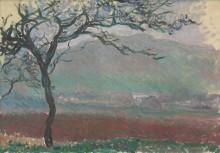 Пейзаж в Живерни - Моне, Клод