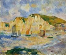 Море и скалы - Ренуар, Пьер Огюст