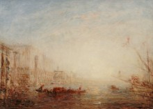 Восходящее солнце над Большим каналом, Венеция -  Зим, Феликс