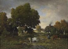 Пасторальный пейзаж - Руссо, Теодор