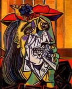 Женщины в слезах, 1937 - Пикассо, Пабло