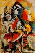 Мушкетер и Амур, 1969 - Пикассо, Пабло