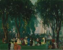 Прием в парке, 1912 -  Бил, Гиффорд