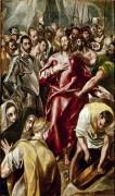Срывание риз с Христа - Греко, Эль