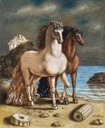 Античные лошади - Кирико, Джорджо де