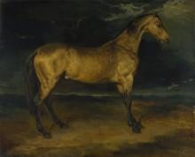 Лошадь испугавшаяся   молнии - Жерико, Теодор Жан Луи Андре