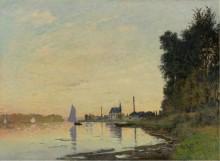 Аржантей, вечер 1872 - Моне, Клод