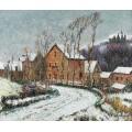 Снег в Пюи близ Дьепп, 1904 - Луазо, Гюстав