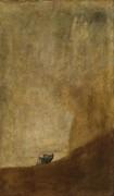 Собака (черные картины) - Гойя, Франсиско Хосе де