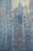 Кафедральный собор в Руане в утреннем свете - Моне, Клод