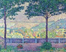 Терраса в Медоне, 1899 - Синьяк, Поль