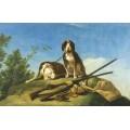 Собаки на цепи, 1775 - Гойя, Франсиско Хосе де