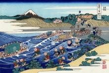 Фуджи  в Токайдо - Кацусика, Хокусай
