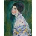 Портрет молодой женщины - Климт, Густав