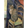 Кошка на стуле - Валадон, Сюзанна