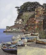 Пристань в Сорренто - Борелли, Гвидо (20 век)