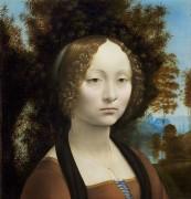 Портрет Джиневры де Бенчи - Винчи, Леонардо да
