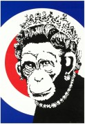 Королева-обезьяна - Бэнкси