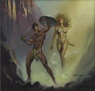 Персей и горгона Медуза - Вальехо, Борис (20 век)