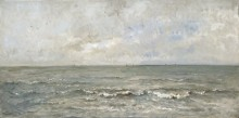 Морской пейзаж - Добиньи, Шарль-Франсуа