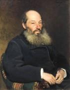 Афанасий Фет. 1882 год - Репин, Илья Ефимович