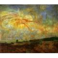 Адам и Ева изгнаны из Рая, 1887 - Энсор, Джеймс
