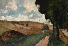 Работники в поле, Тюрингия, 1911 - Ури, Лессер