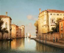 Канал в Венеции - Голли, Уго