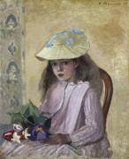 Портрет дочери художника - Писсарро, Камиль