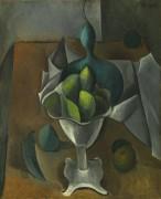 Ваза с фруктами - Пикассо, Пабло