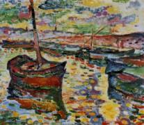 Лодки в Коллиуре - Брак, Жорж