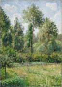 Тополя, Эрани,  1895 - Писсарро, Камиль