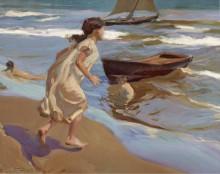 Время для купания, 1917 - Бастида, Хоакин Соролла
