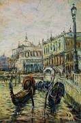 Венеция. Рива дельи Скьявони. 1890 - Левитан, Исаак Ильич
