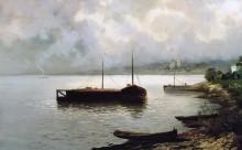 Волга. 1889 - Левитан, Исаак Ильич