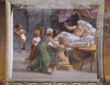 Исаак, благословляющий Иакова - Рафаэль, Санти