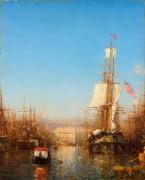 Порт в Марселе -  Зим, Феликс