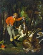 После охоты - Курбе, Гюстав