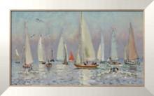 Хорошая погода над морем (Довилль), 1871 - Гамбург, Андре