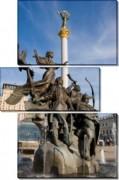 Памятник основателям Киева - Сток