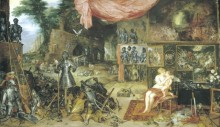 Прикосновение, 1617 - Бреггель, Ян (Старший)