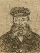 Портрет почтальона Жозефа Рулена (Portrait of the Postman Joseph Roulin), 1888 - Гог, Винсент ван