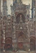 Руанский собор, магия в коричневом, 1892-1894 - Моне, Клод